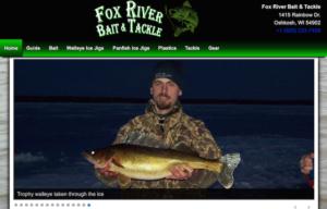 Fox River Bait & Tackle Website