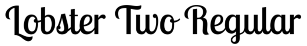 Lobster Two font