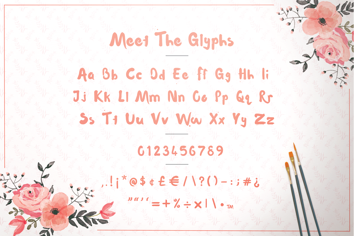 WaterLily Free Font