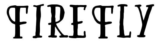 Firefly font