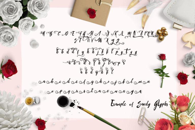 Sandy Font