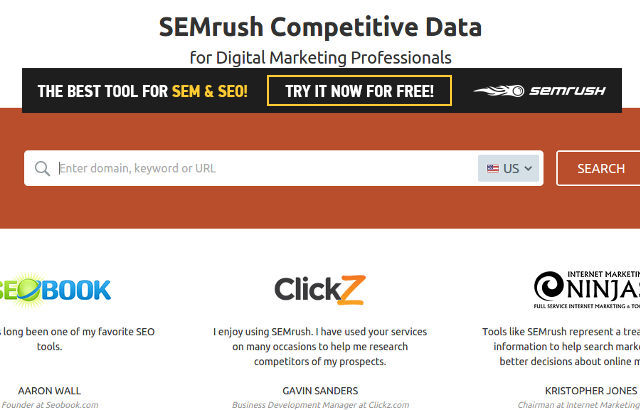 SEMRush Review – Sign up for a free trial Today
