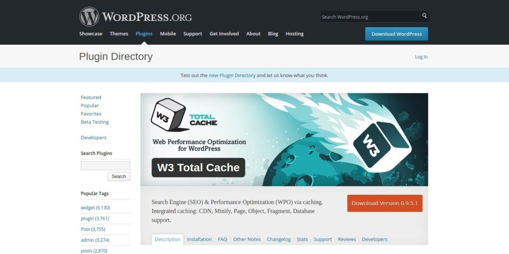Best WordPress Cache Plugins to improve site speed