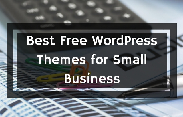 Free Small Business WordPress Themes