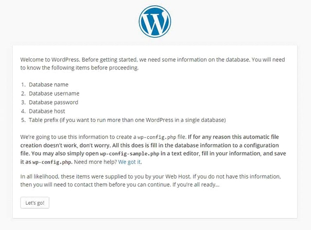 Setting up WordPress on XAMPP