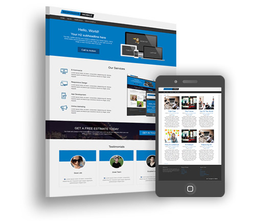 best mobile friendly WordPress theme