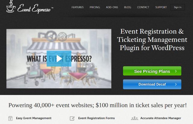 Event Espresso – WordPress Event Management Plugin Reviewed