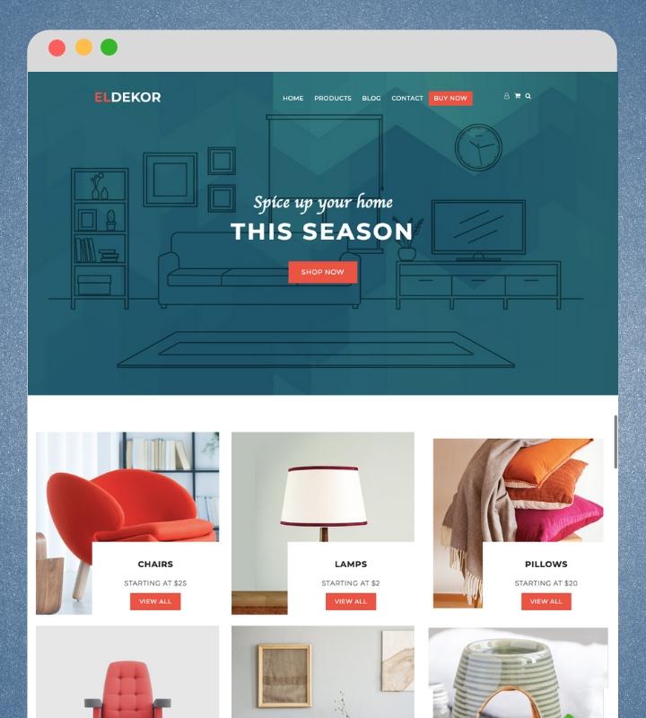 ecommerce theme for WordPress