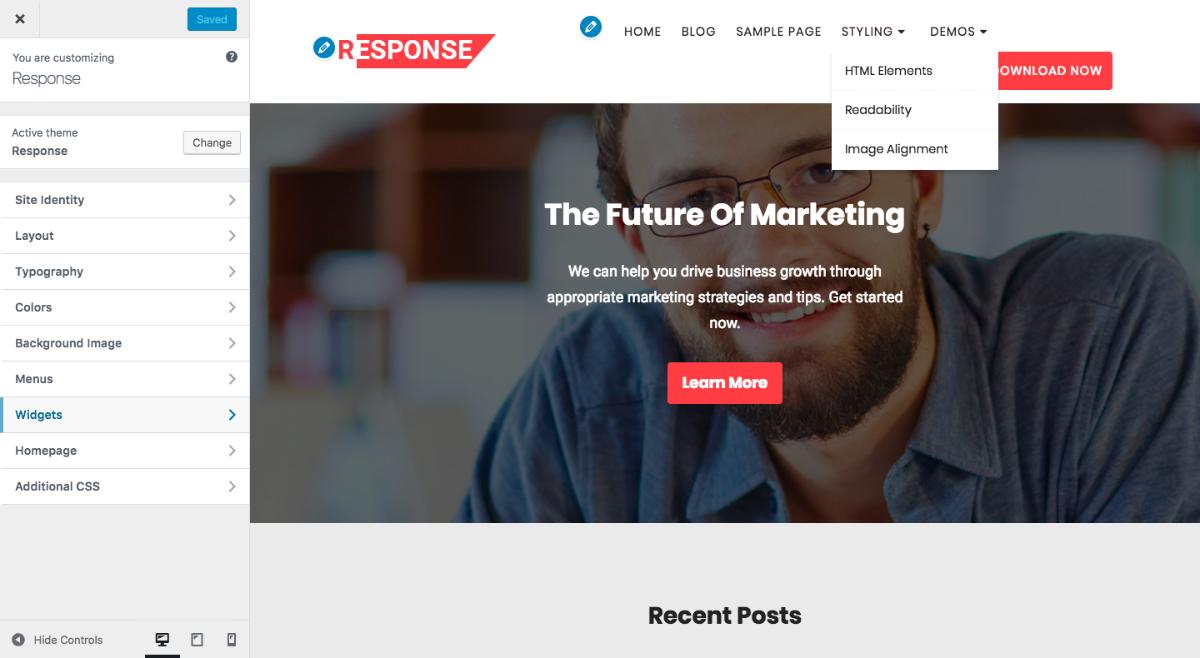 response-customizr