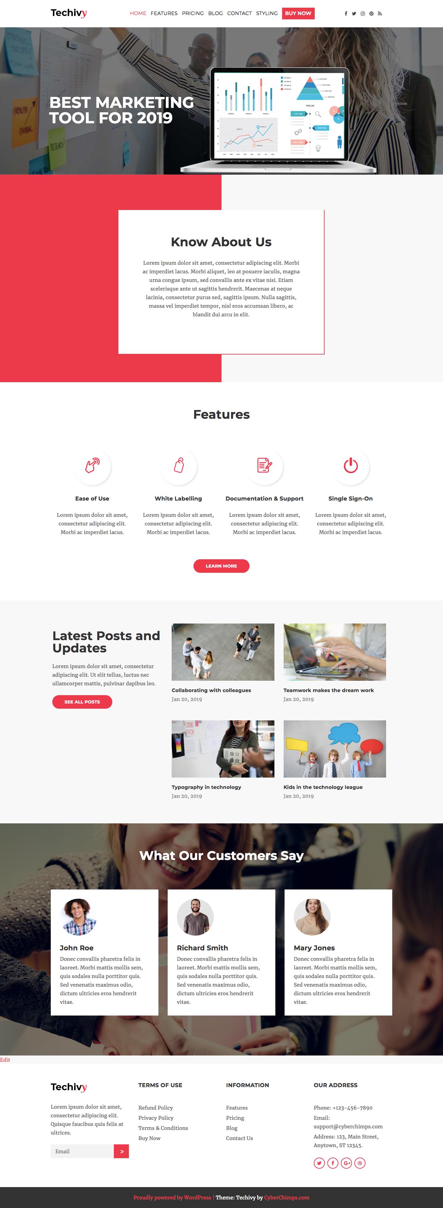 techivy-homepage