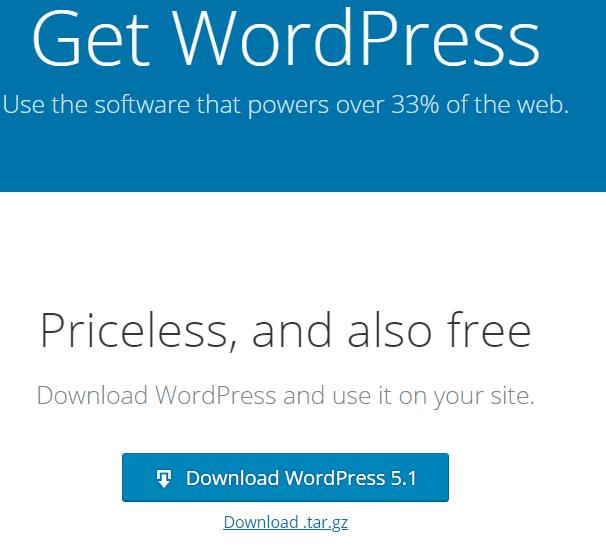 Method2- Download WP