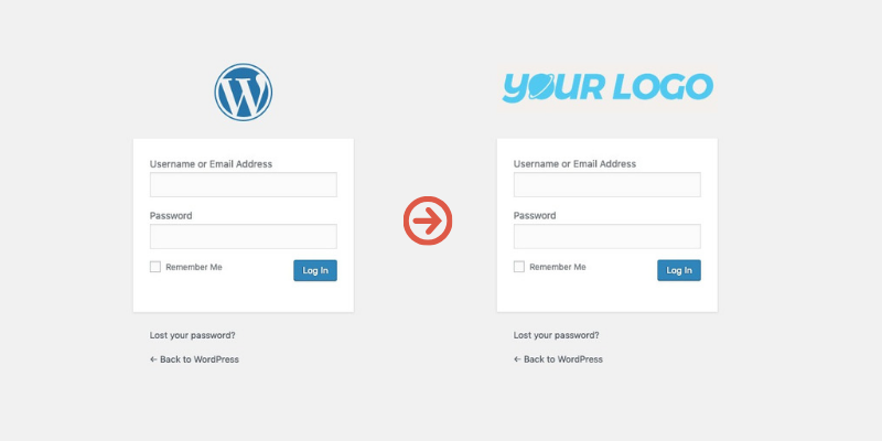 change-wordpress-login-page-logo