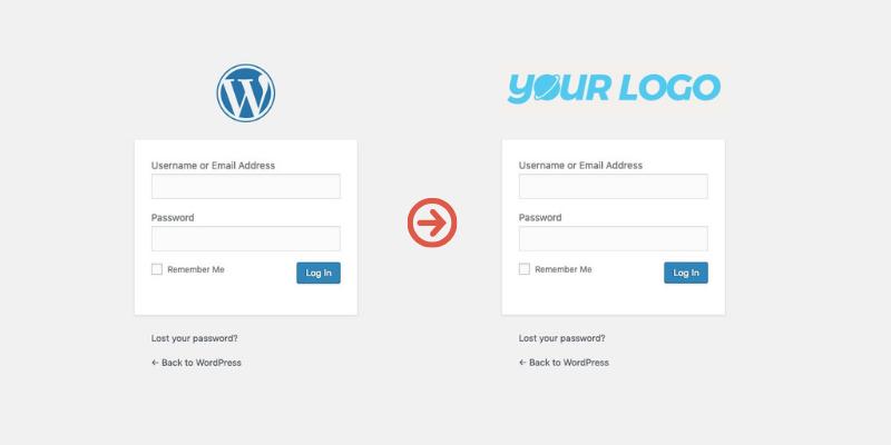 change-wordpress-login-page-logo