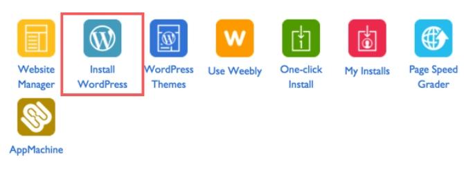 One Click WordPress Installation