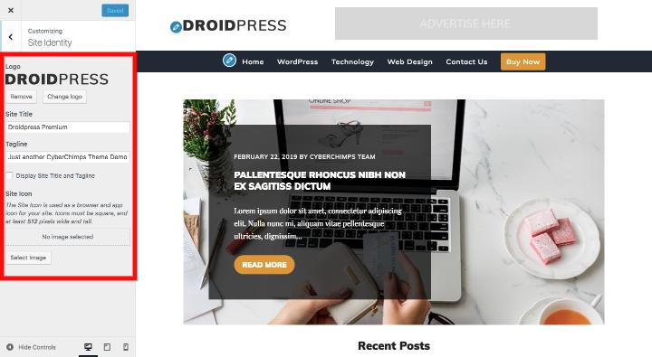 wordpress-change-site-title-customizer