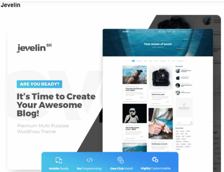 Jevelin- Business theme with slider