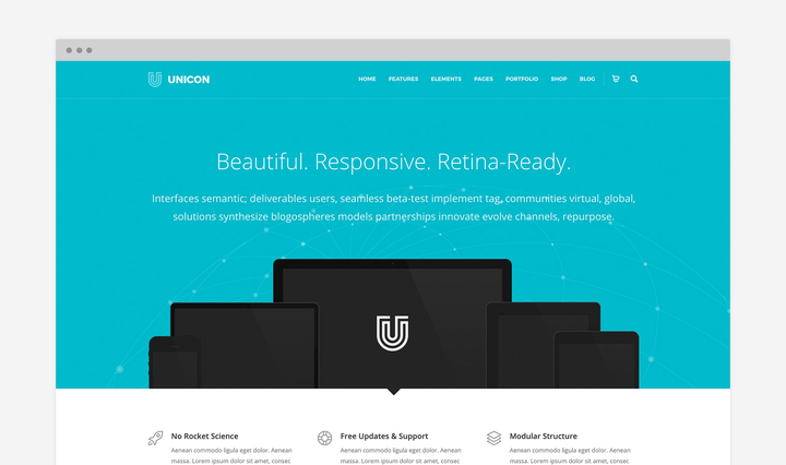 Unicon- Business theme with slider