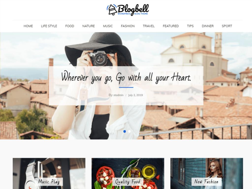 BlogBell- Free WordPress Theme