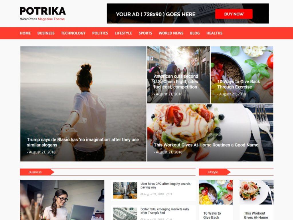 Newspotrika-news-theme