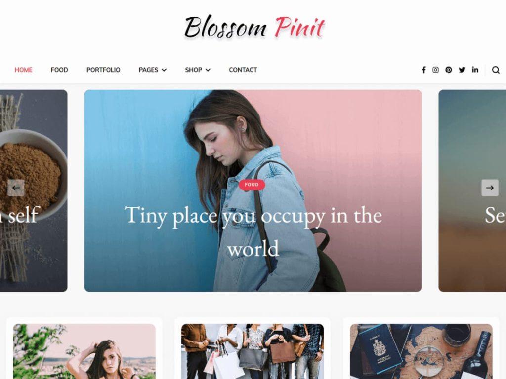 Blossom Pinit WordPress MultiPurpose Theme