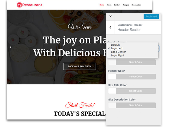 responsive-header-layout-customization-options