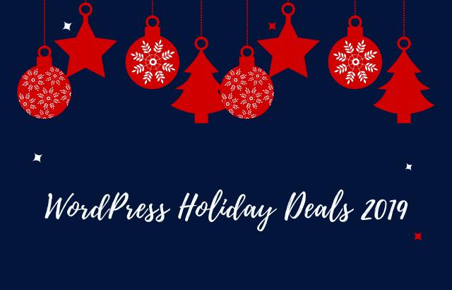 Best WordPress Black Friday & Christmas Deals – 2019
