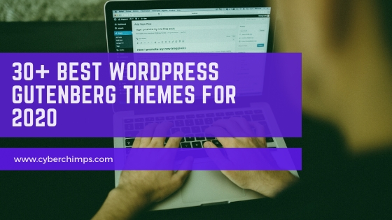 30+ Best WordPress Gutenberg Compatible Themes For 2020