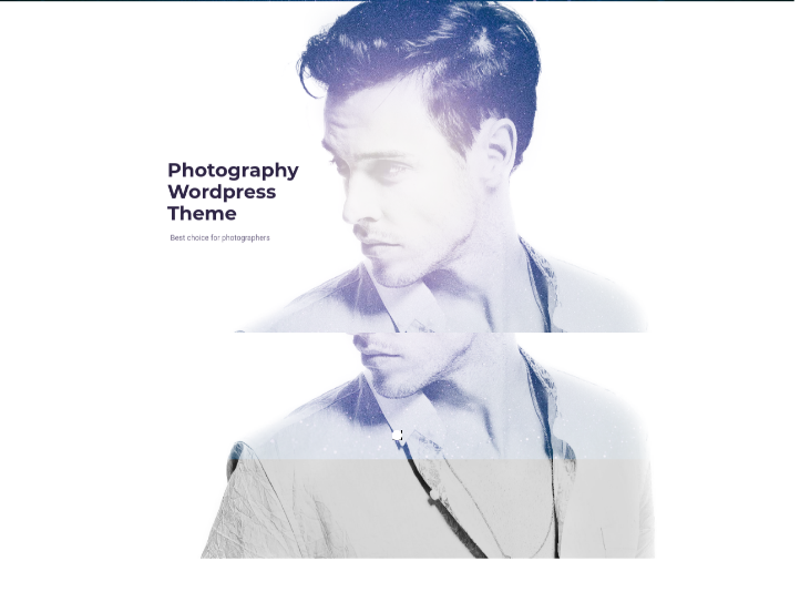Real WordPress Photography Theme