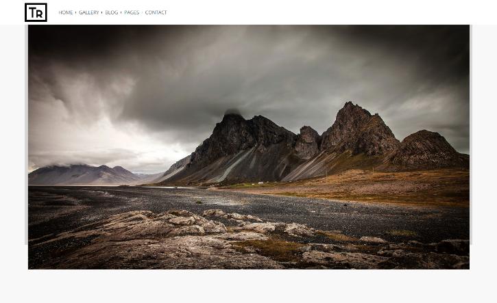 Trend Photography WordPress Theme