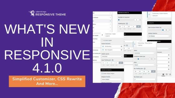 What's New In Responsive 4.1.0: Simplified Customizer, CSS Rewrite And More…