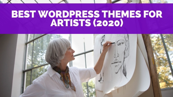 Best WordPress Themes for Artists In 2021