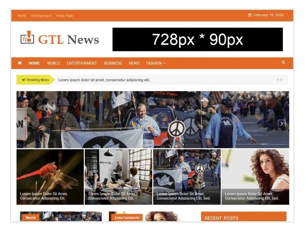 GTL News - WordPress News Theme