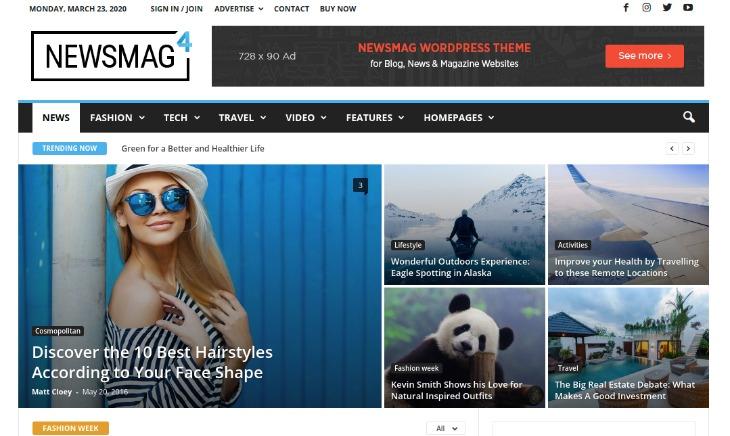 Newsmag - WordPress News Theme