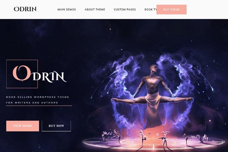 Odrin- WordPress theme for writers