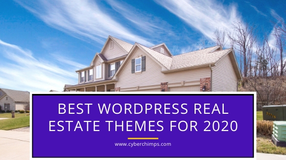 Best WordPress real estate themes for 2020