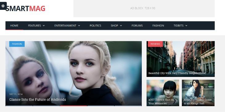 Smartmag - WordPress News Theme