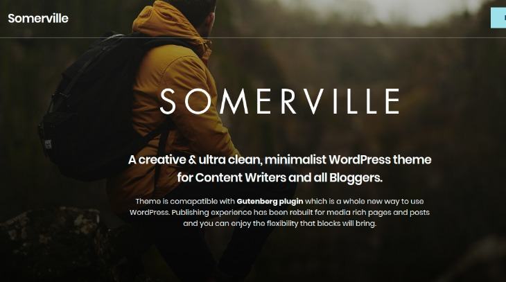 Somerville - WordPress theme for writers