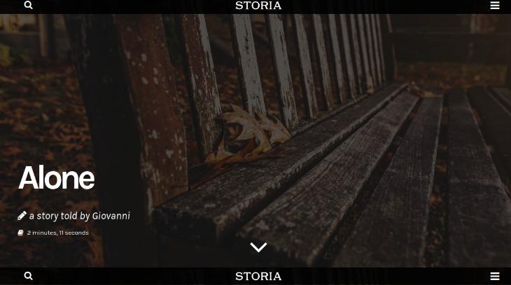 Storia - WordPress theme for writers
