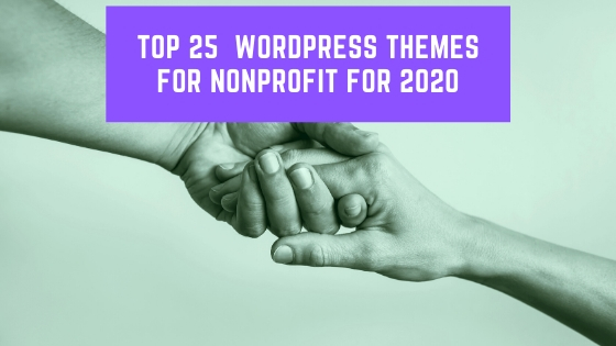 Top 25 WordPress Themes for Nonprofit for 2020
