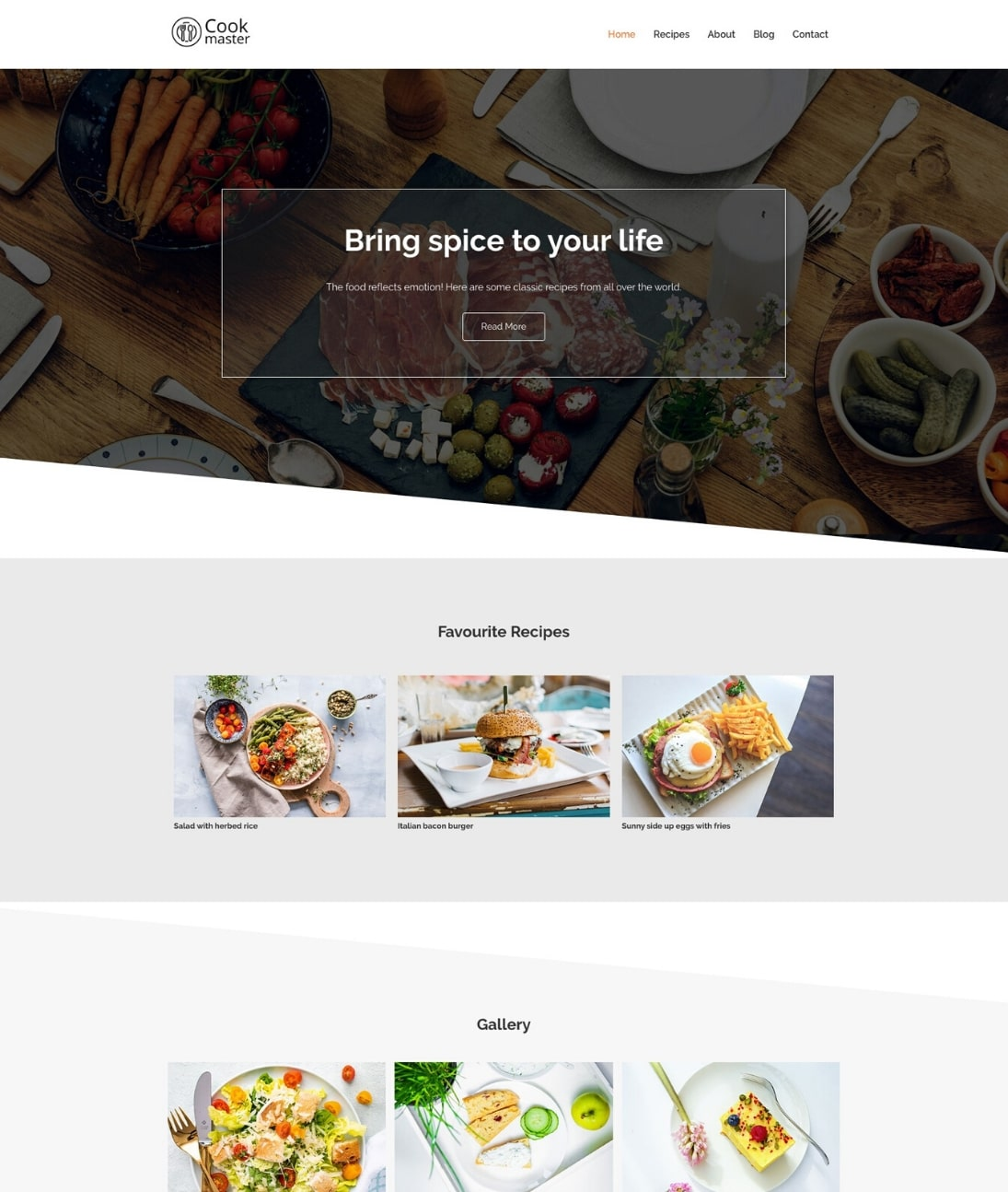 free WordPress recipe theme