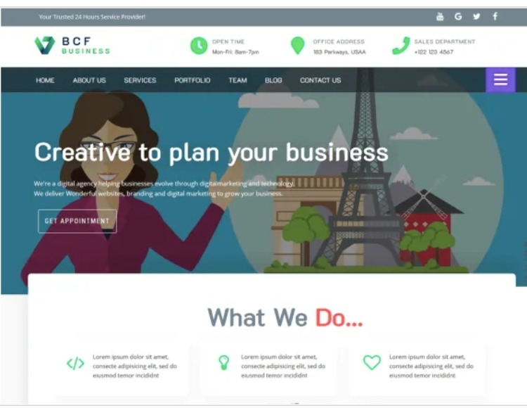 Business consultant finder- WordPress Theme For Business
