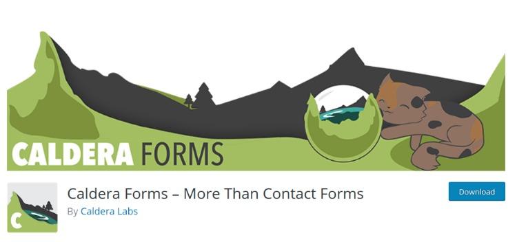 Caldera Forms- WordPress form plugin