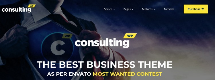 Consulting- WordPress Theme For Business