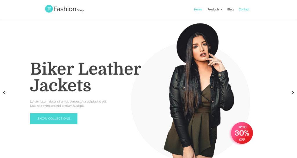 Fashion Shop- WordPress fashion blog theme
