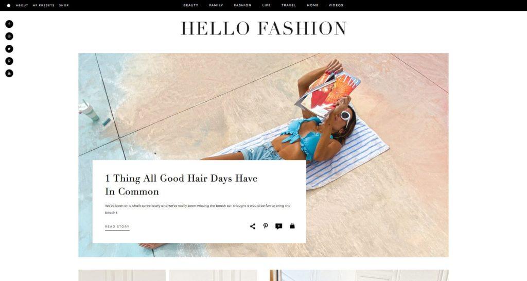 Hello Fashion- Fashion Blog