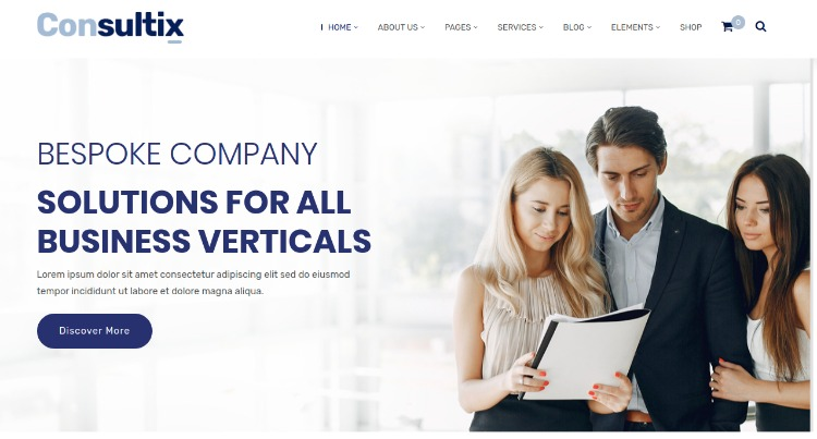 Consultix- WordPress Theme For Business