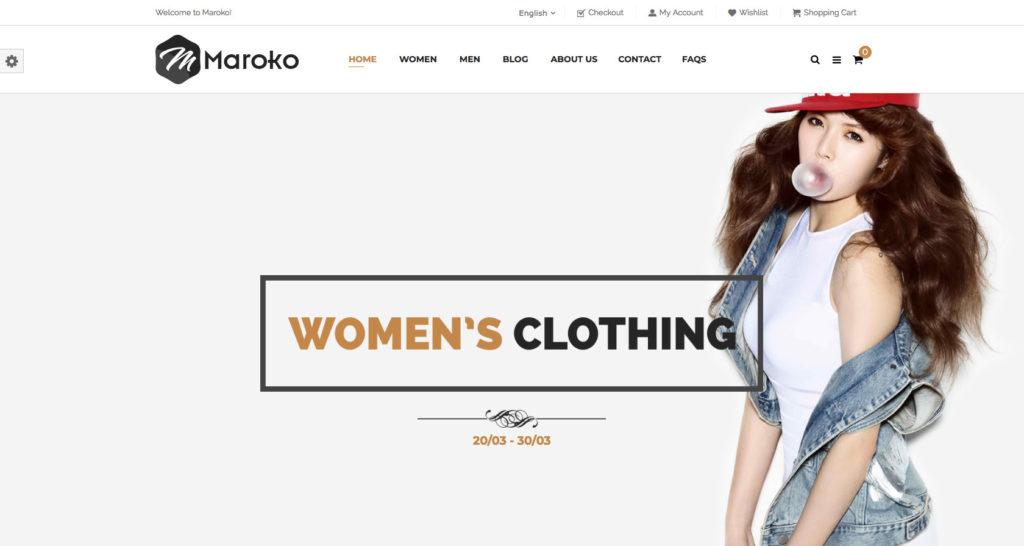 Maroko- WordPress fashion blog theme