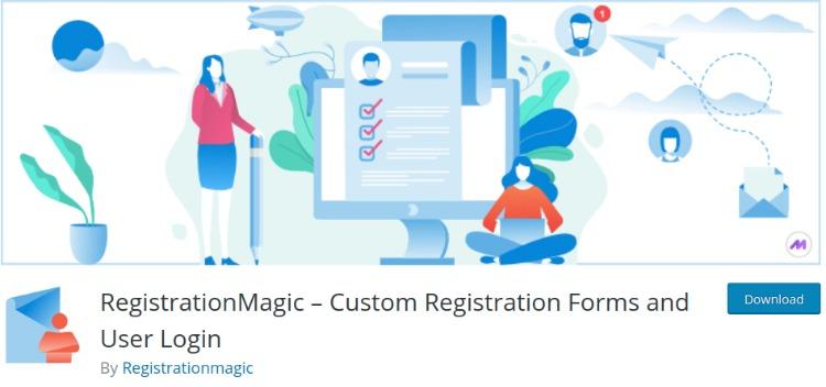 Registration Magic- WordPress form plugin