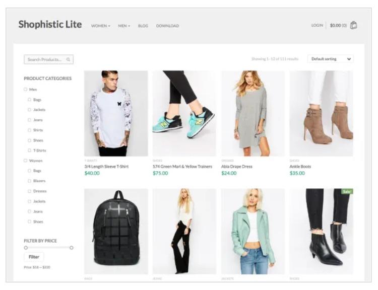 Shophistic- WordPress Theme For Business