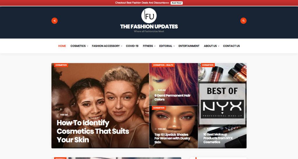 The Fashion Updates- Fashion Blog